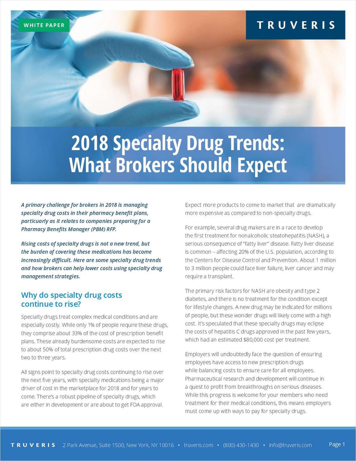 2018 Specialty Drug Trends: What Brokers Should Expect