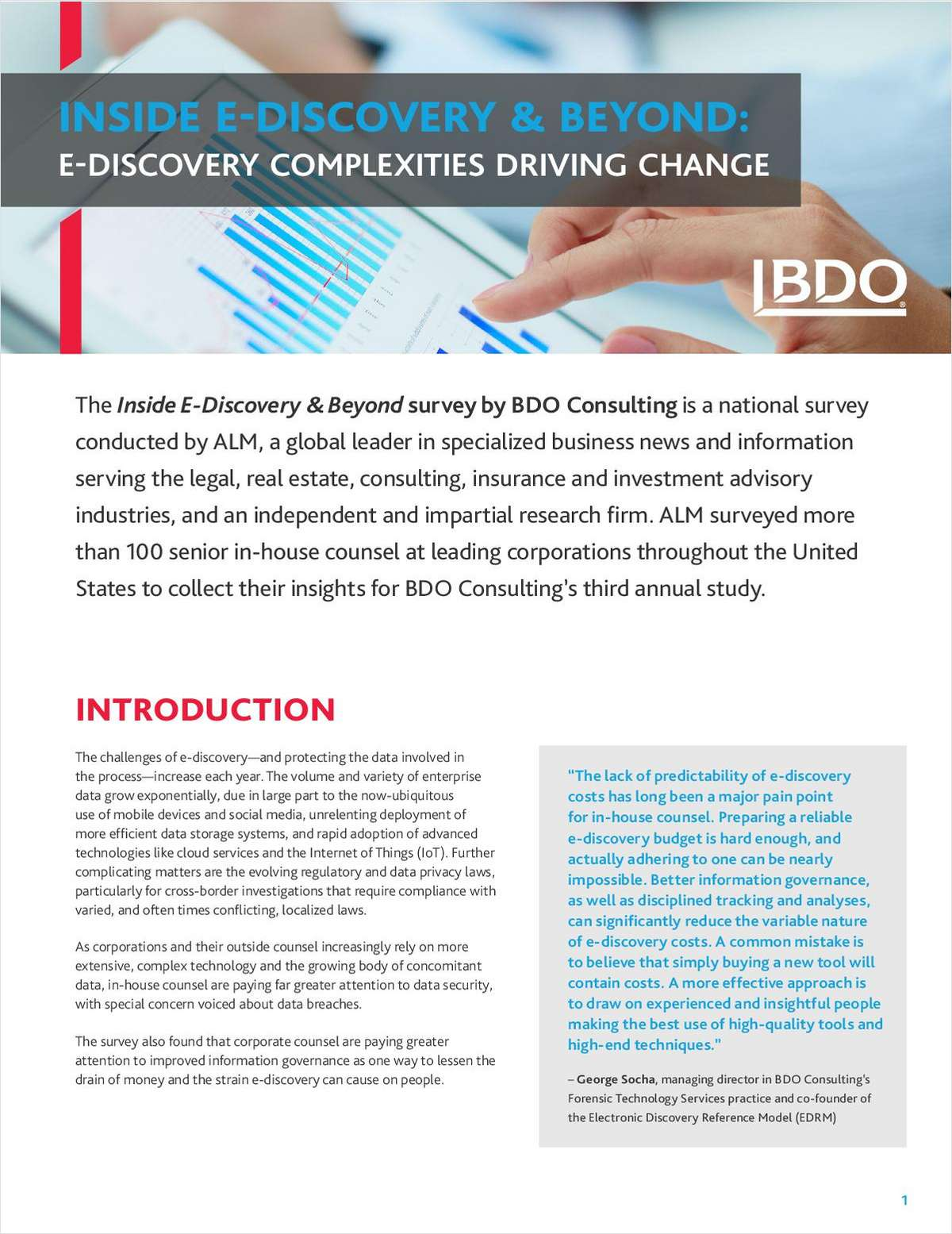 Inside E-Discovery & Beyond: E-Discovery Complexities Driving Change