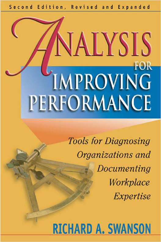 Analysis for Improving Performance -- A 94 Page Excerpt