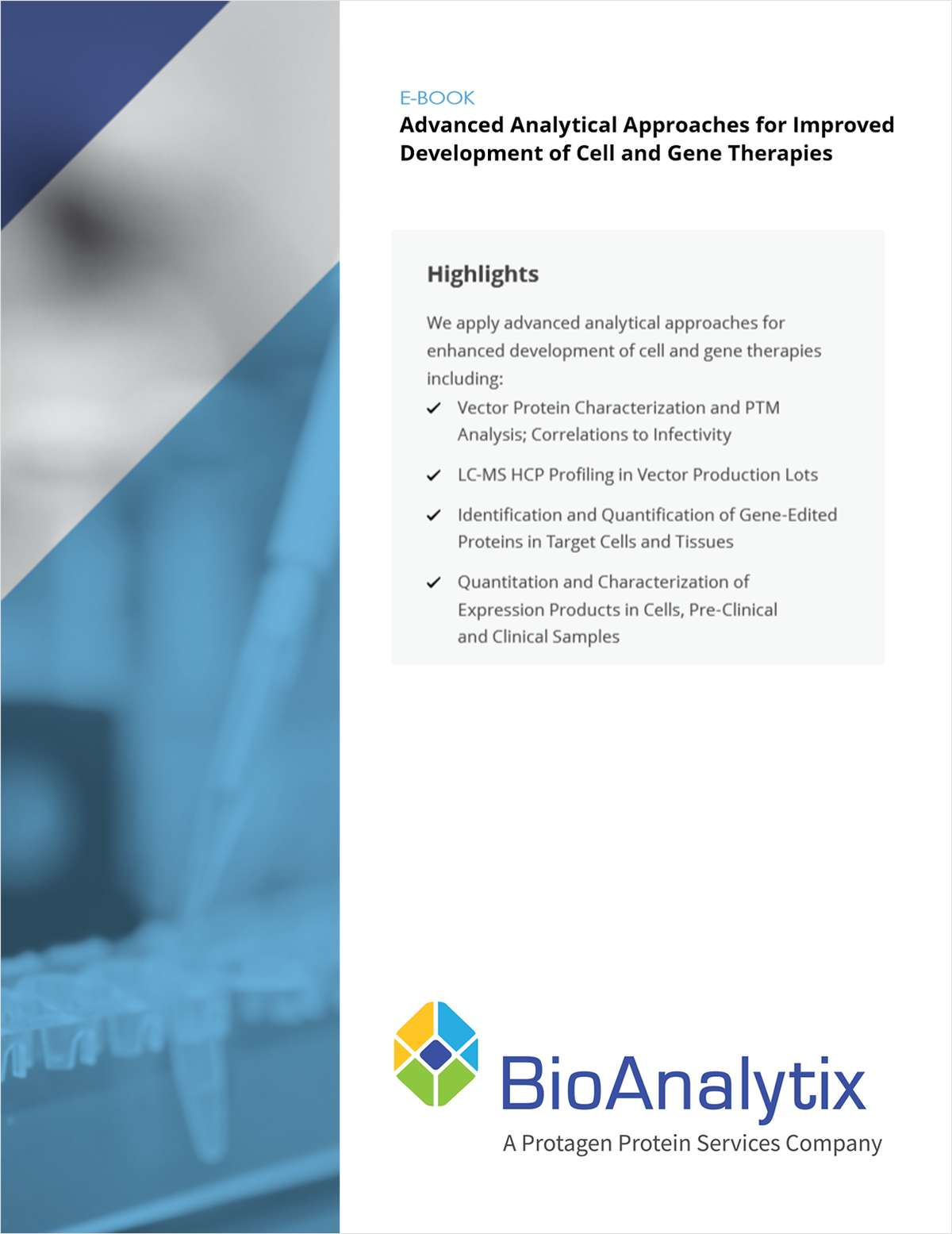 Advanced Analytical Approaches for Improved Development of Cell and Gene Therapies