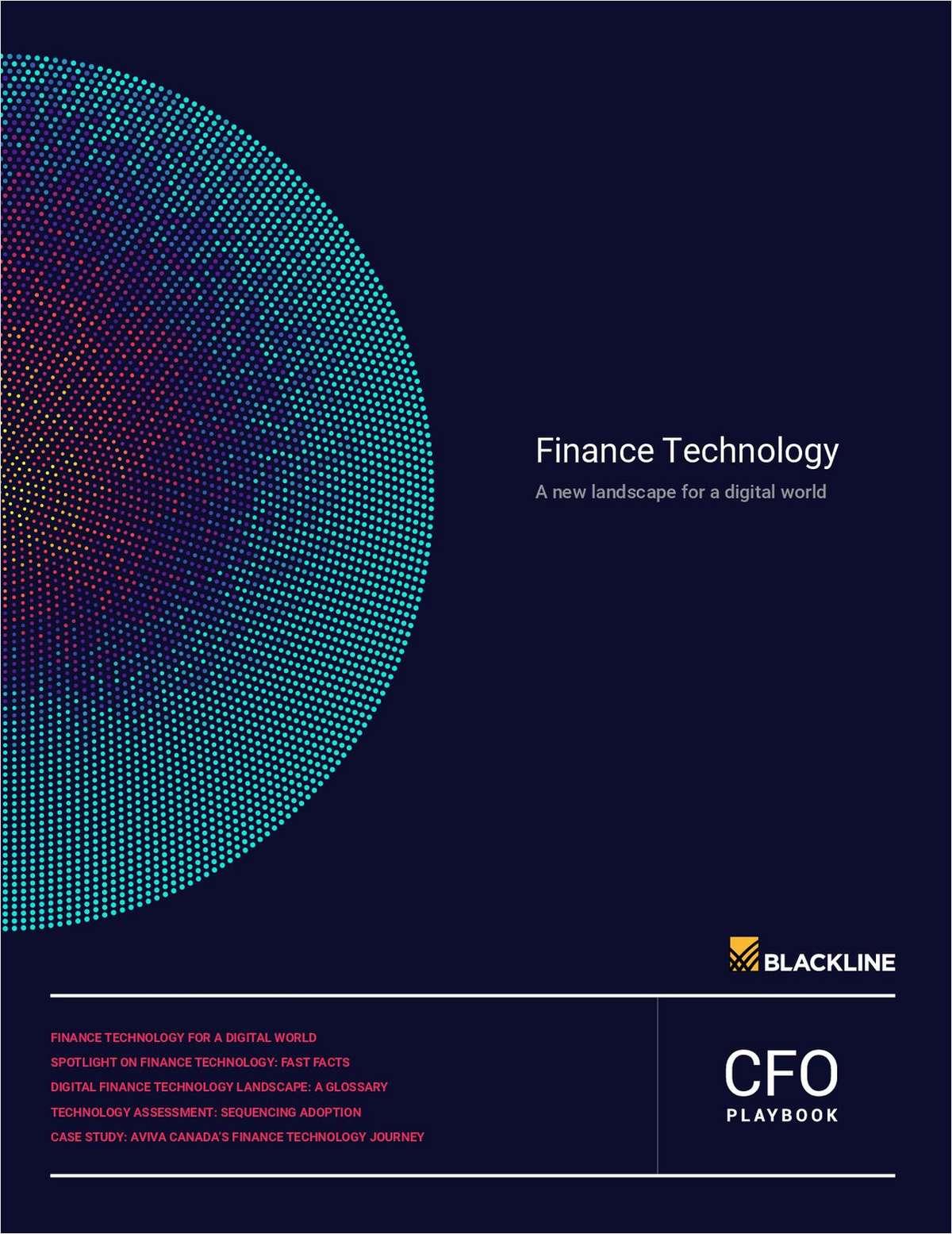 Finance Technology - A New Landscape for a Digital World