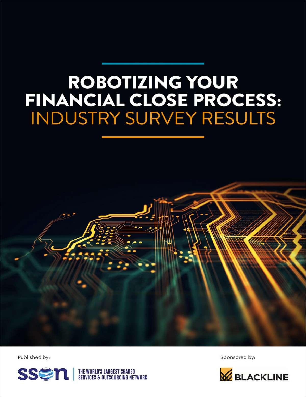 Robotizing Your Financial Close Process