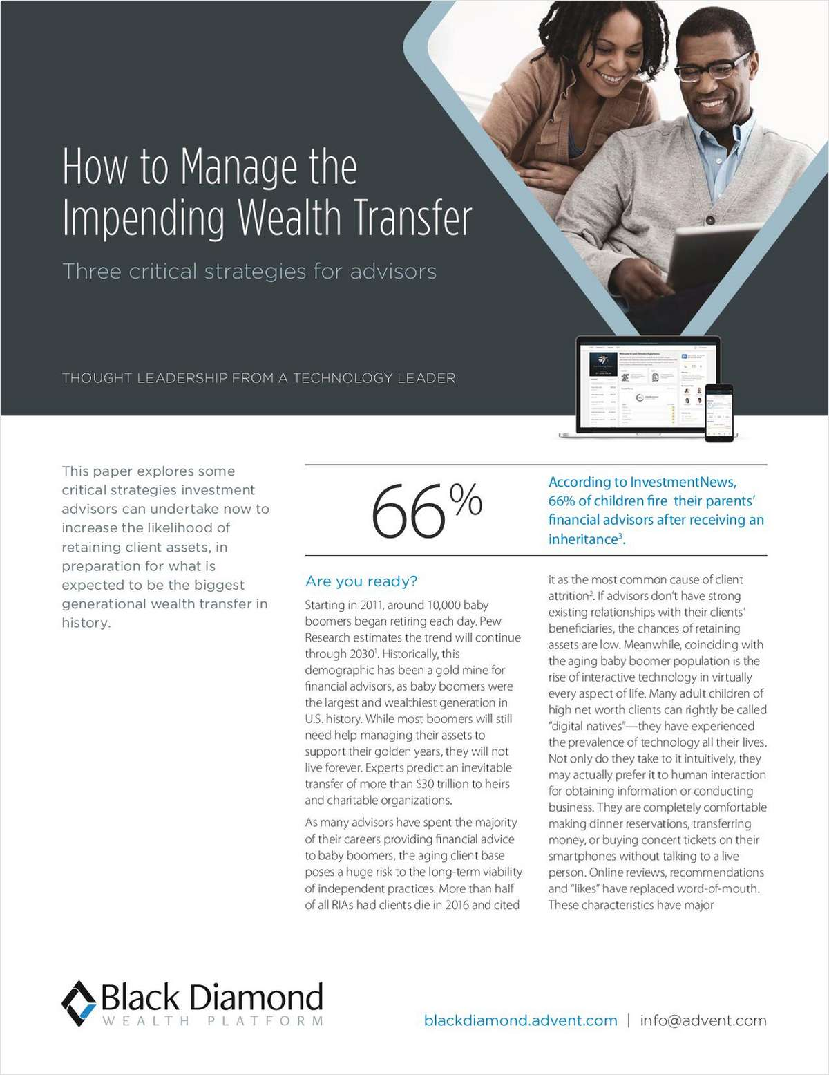How to Manage the Impending Wealth Transfer: 3 Critical Strategies for Advisors