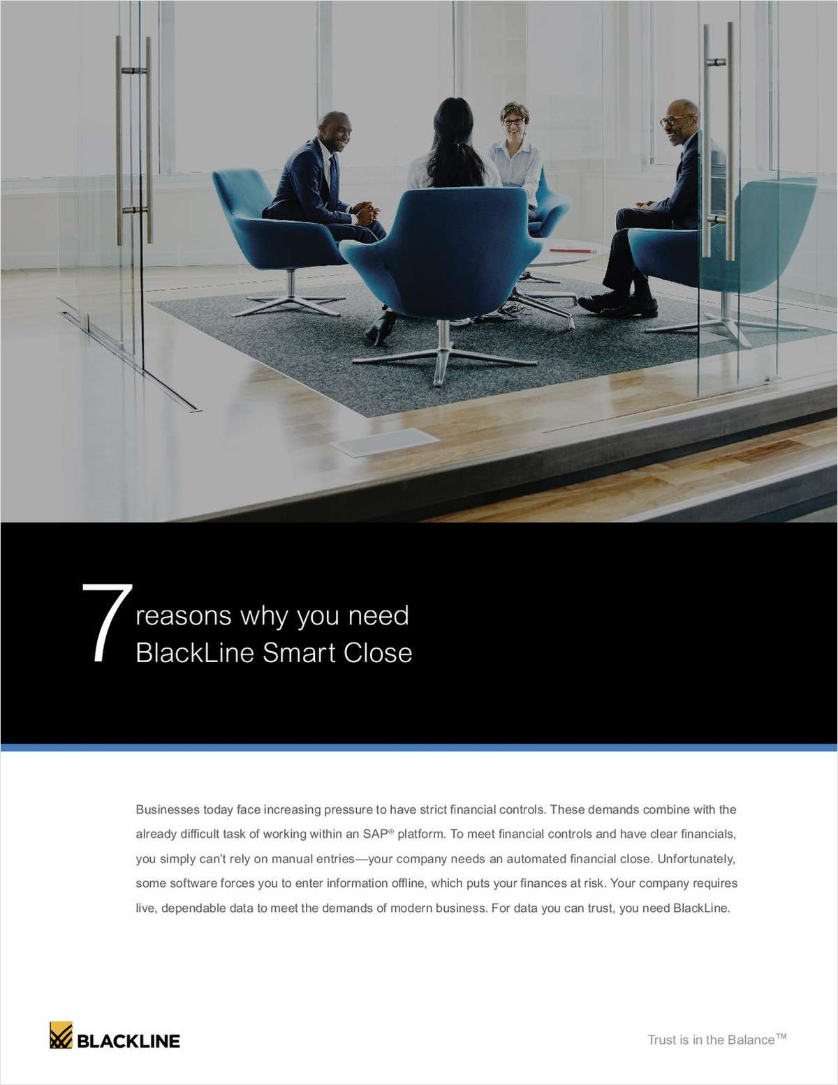 7 Reasons Why You Need BlackLine Smart Close for SAP