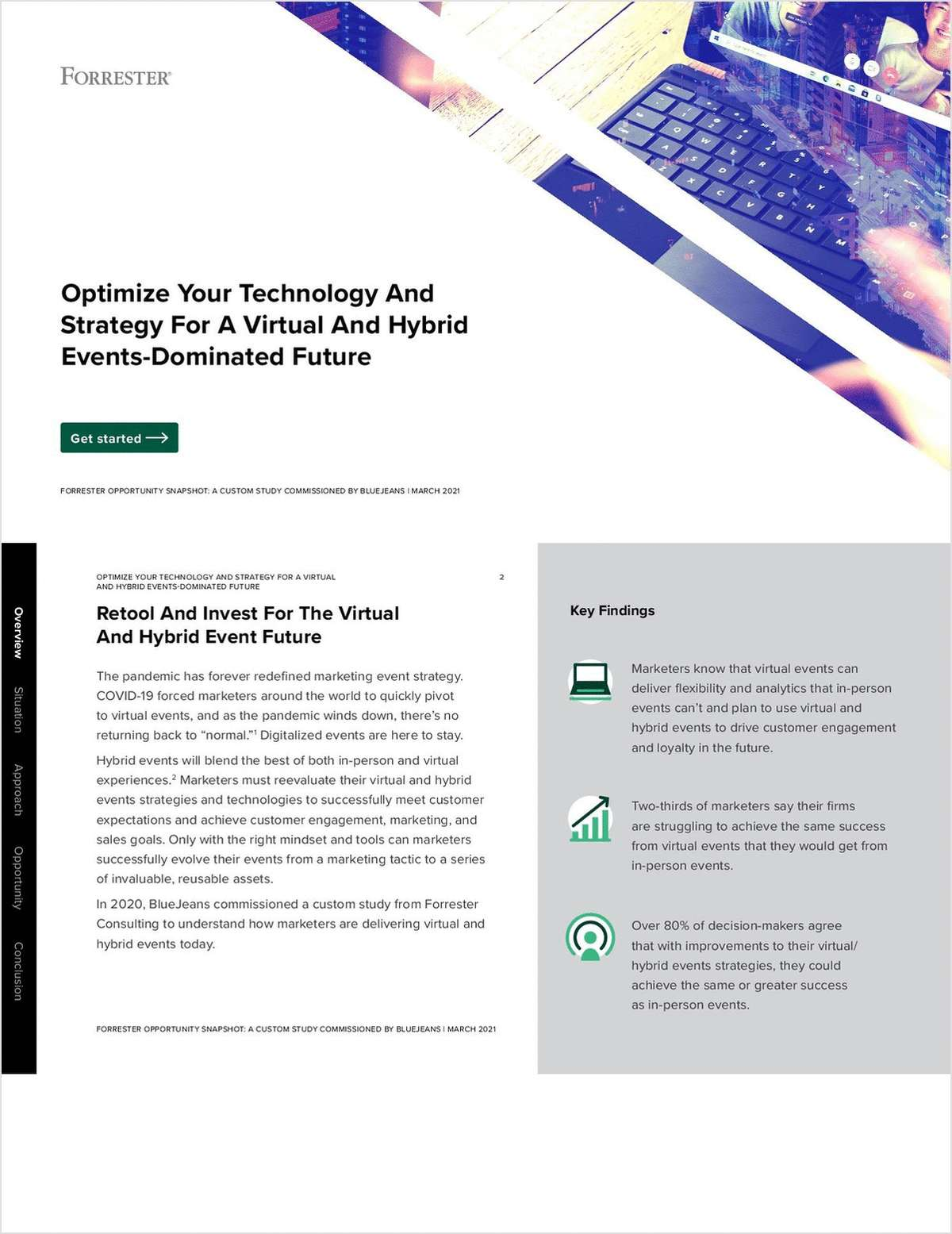 Forrester Report: Optimize Your Technology And Strategy For A Virtual And Hybrid Events-Dominated Future