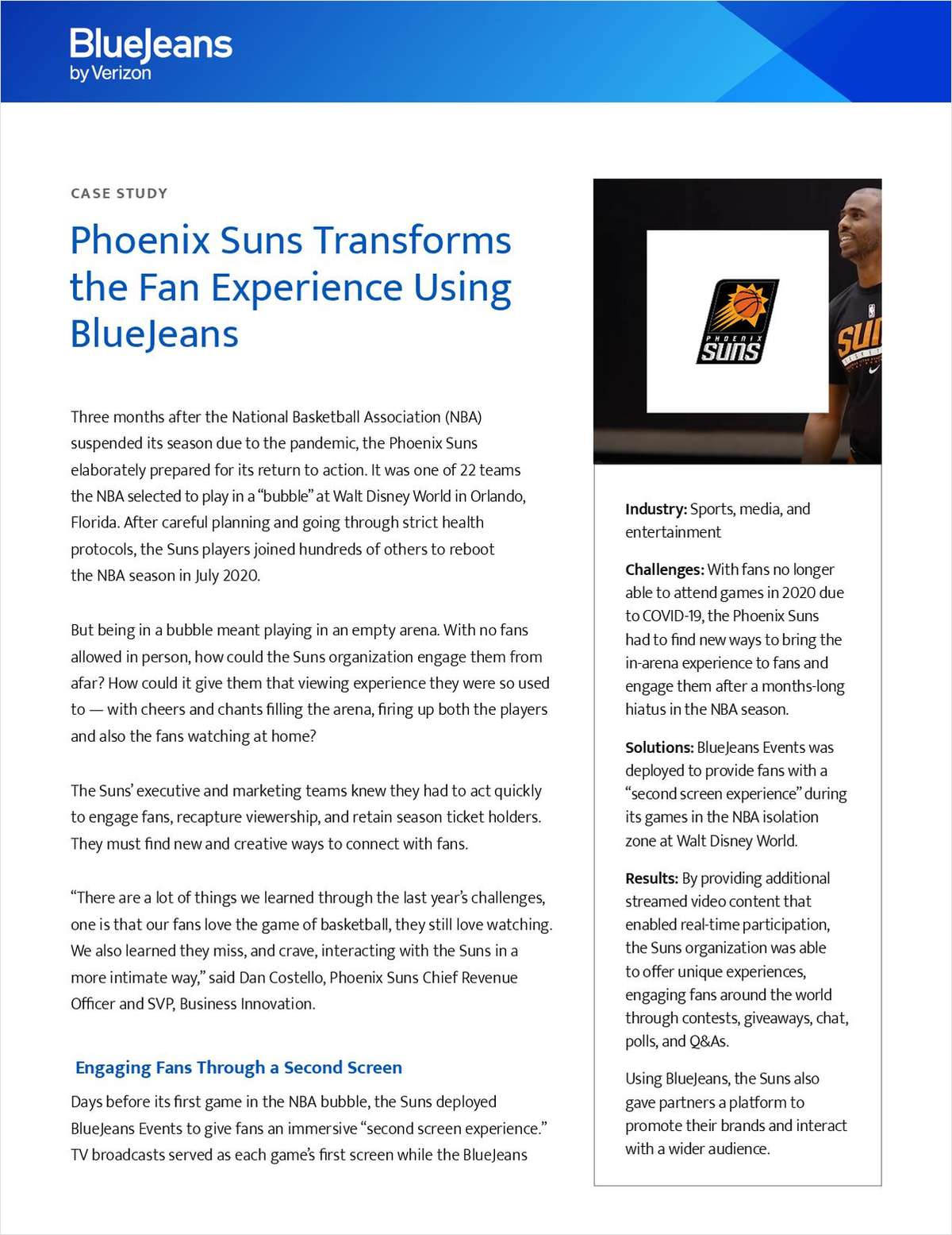 How the Phoenix Suns Transformed the Fan Experience