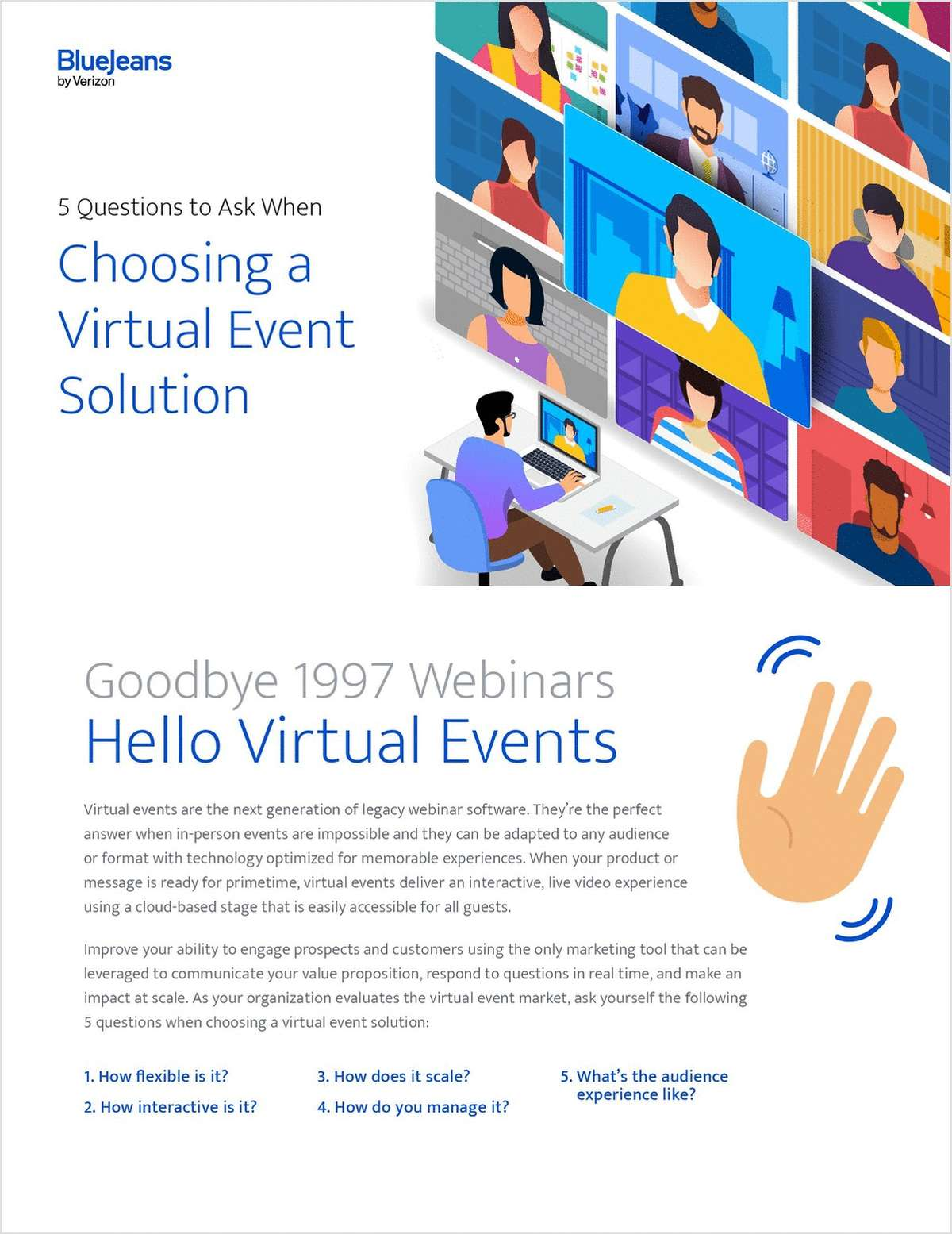5 Questions to Ask When Choosing a Virtual Event Solution
