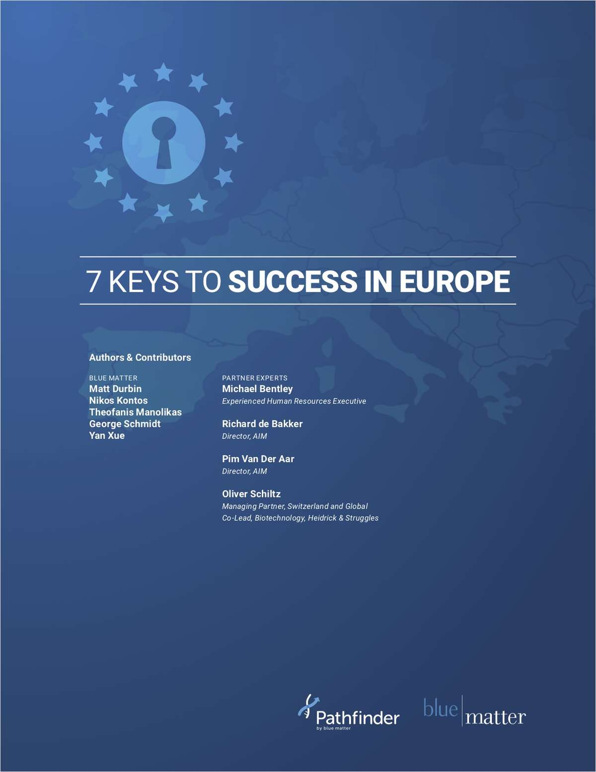 7 Keys to Success in Europe