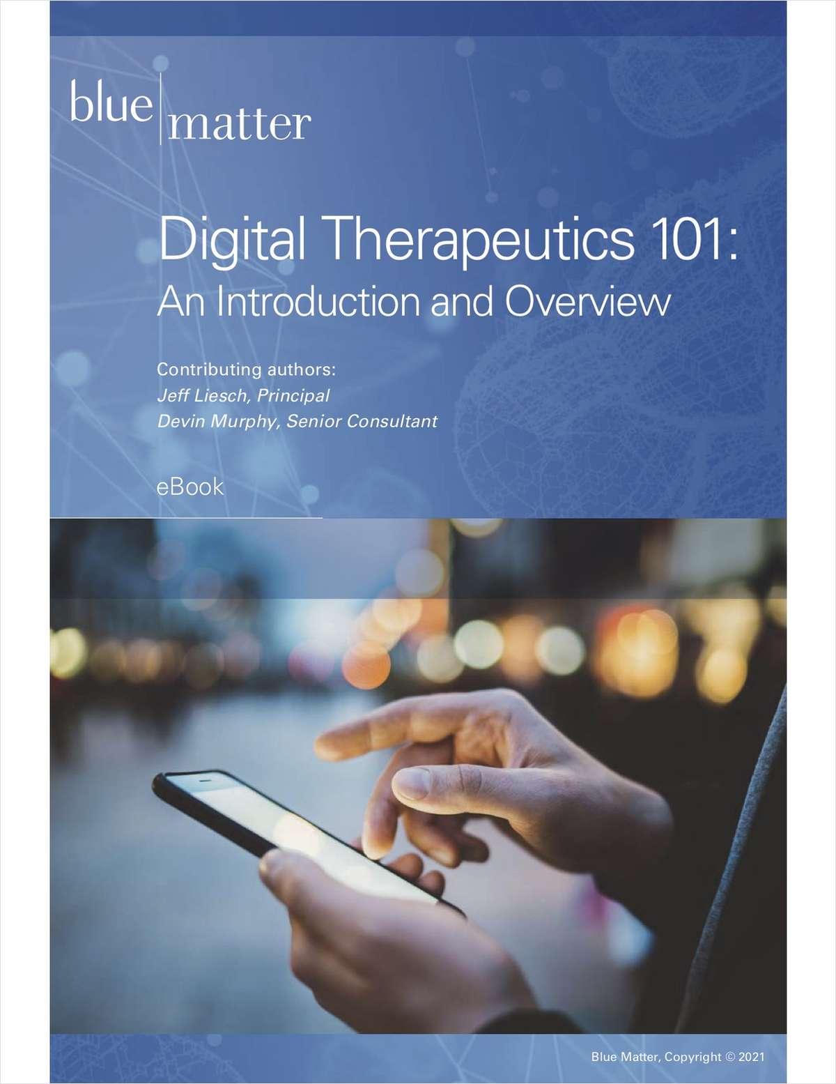 Digital Therapeutics 101