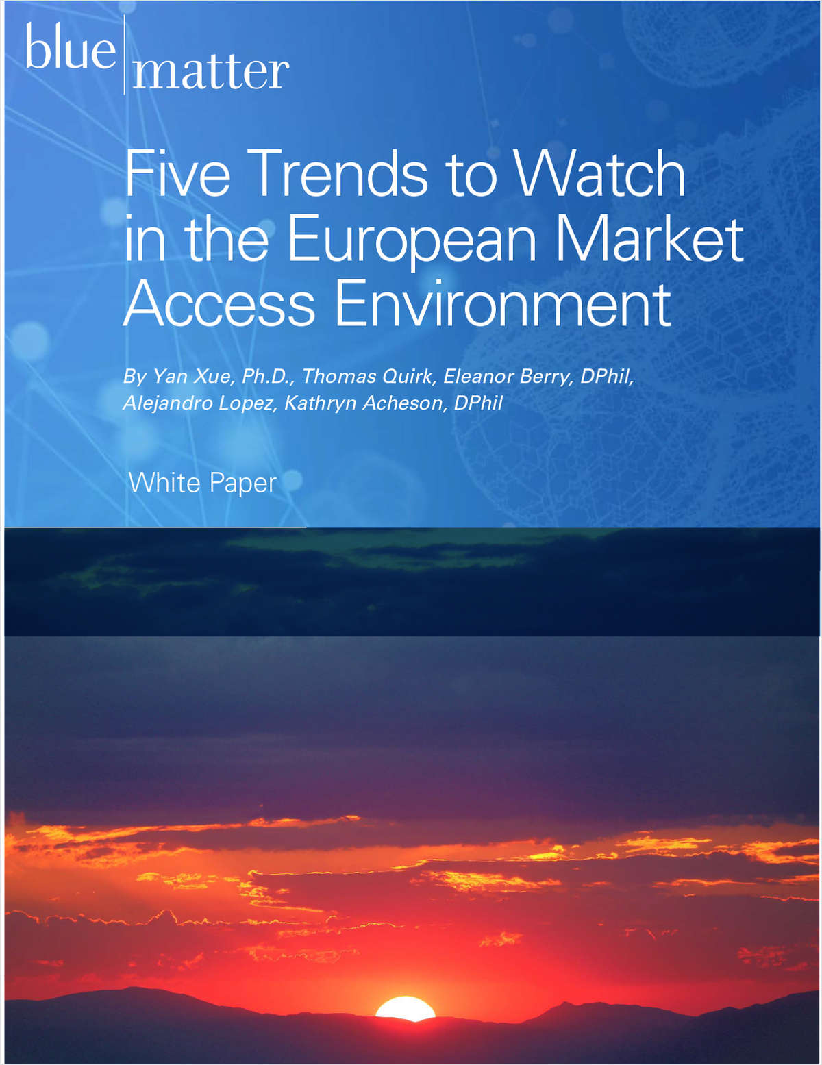 5 Trends to Watch in the European Market Access Environment