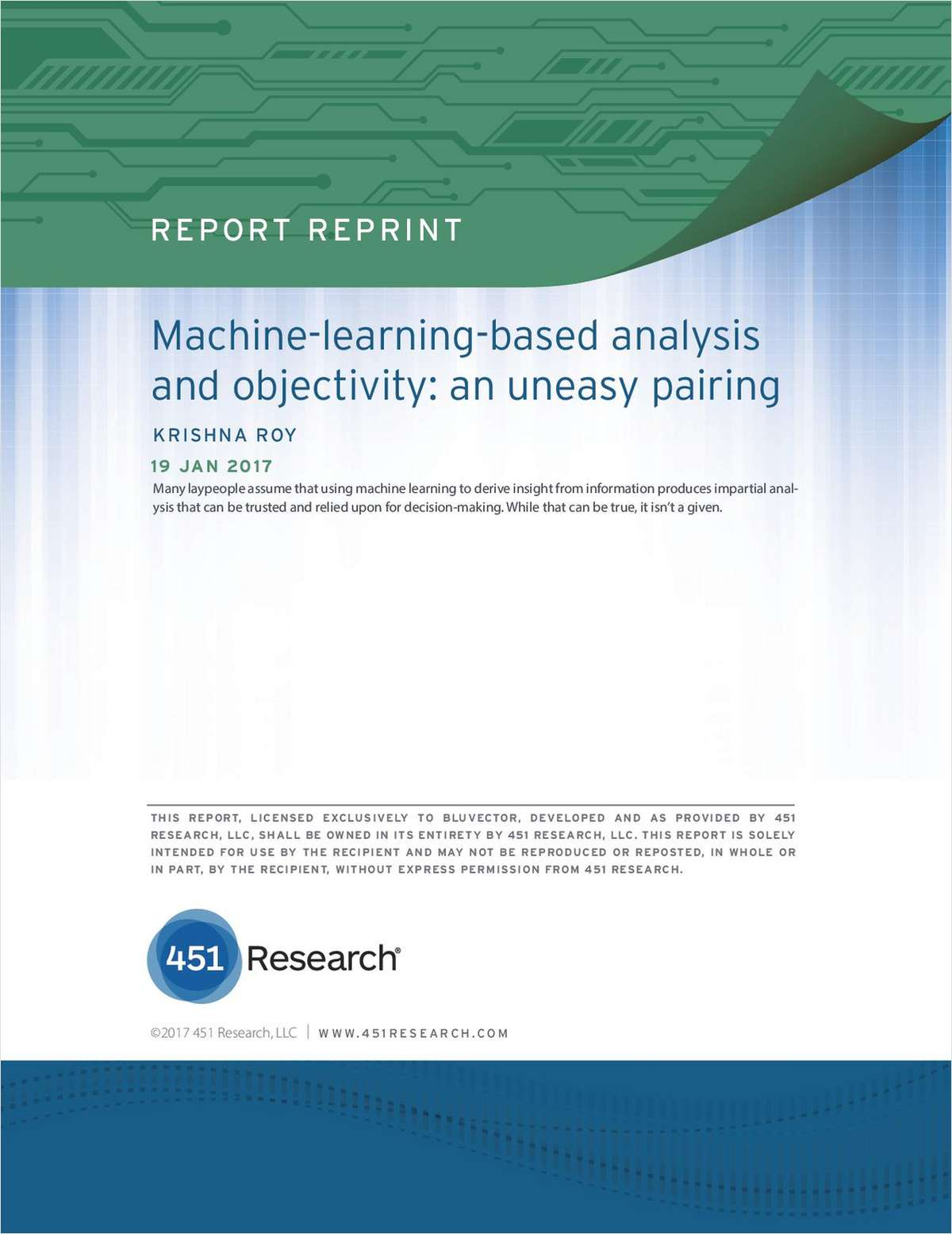 Machine-Learning-Based Analysis and Objectivity: An Uneasy Pairing
