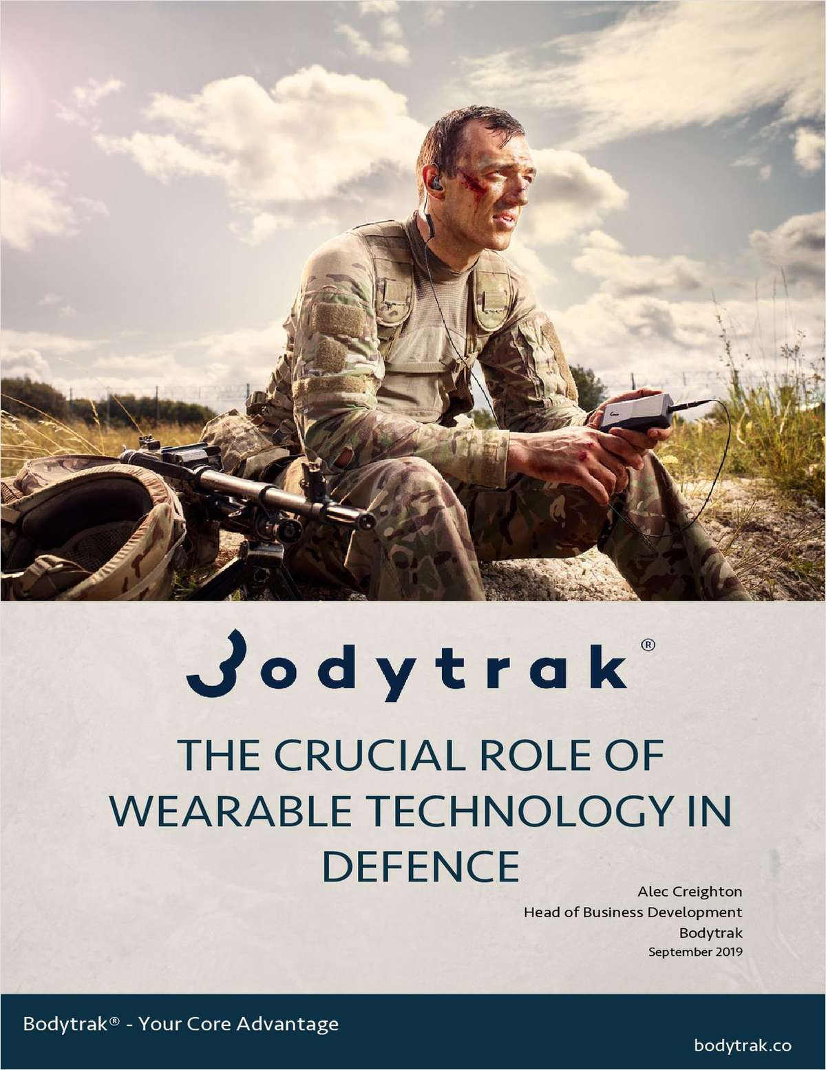 The Crucial Role of Wearable Technology in Defence
