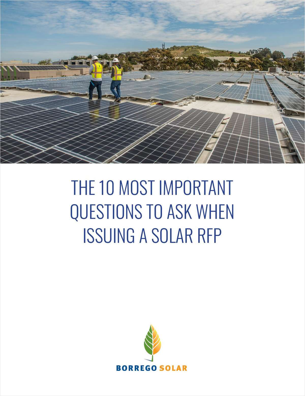The 10 Most Important Questions to Ask when Issuing a Solar RFP
