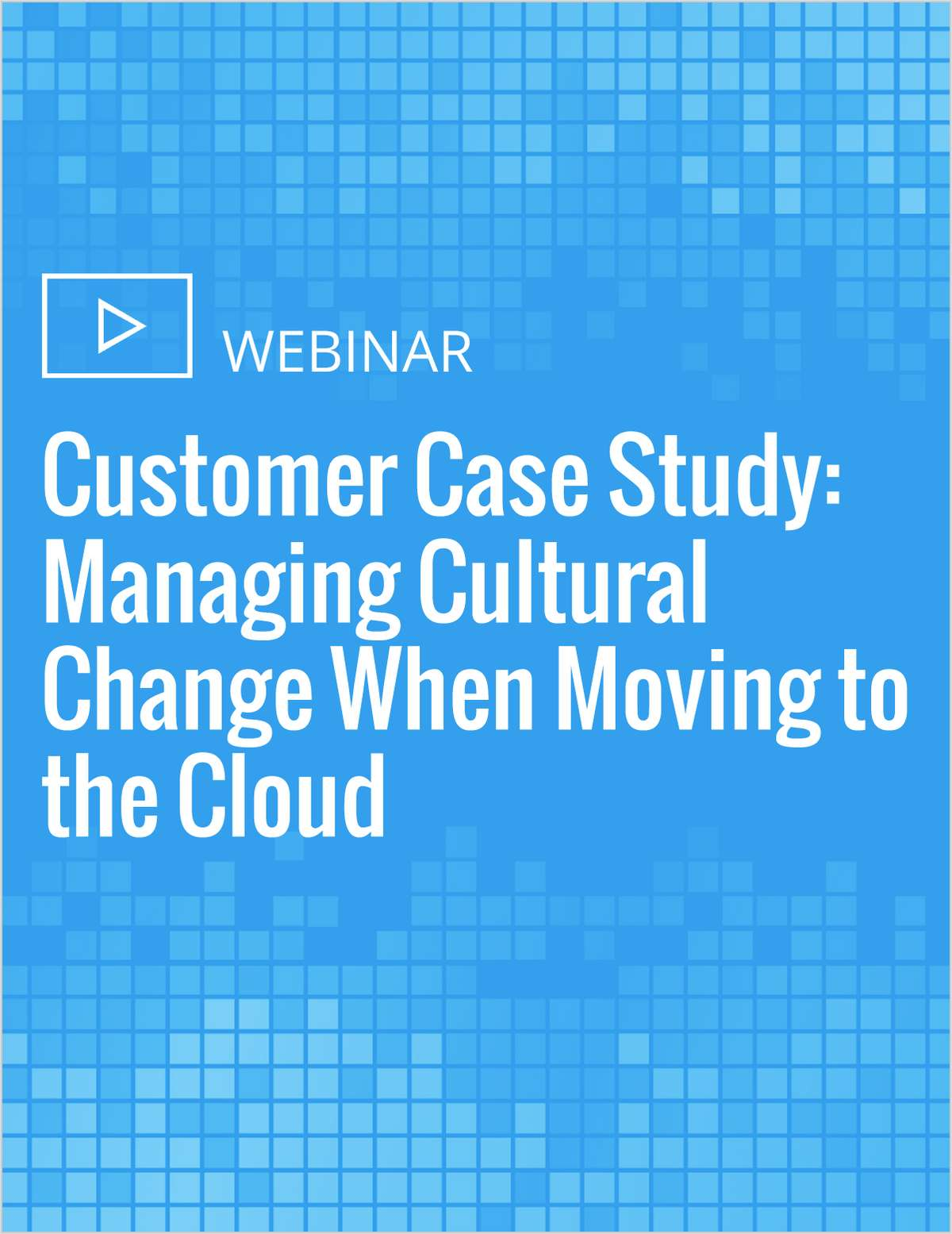 managing the value change case study Learn how value chain analysis can help you explore ways to add real value - to your customers and your organization.