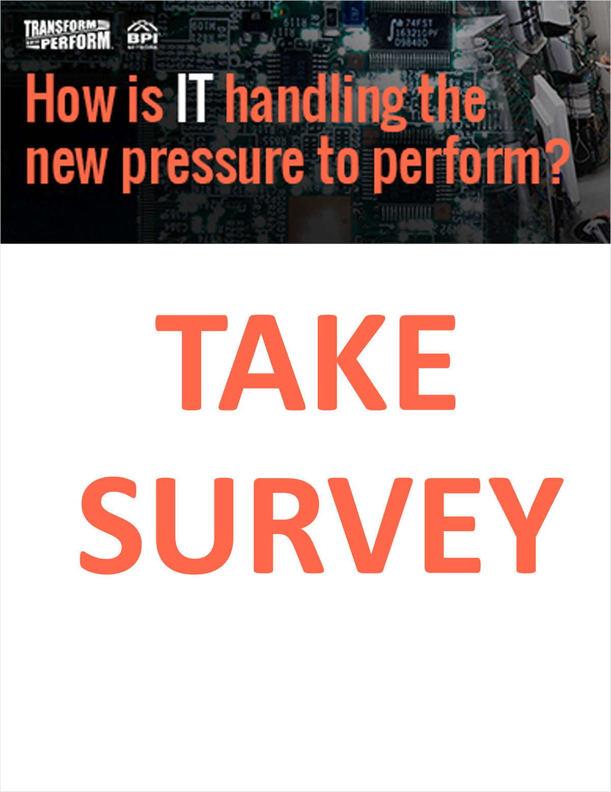 How Is IT Handling The New Pressure To Perform?