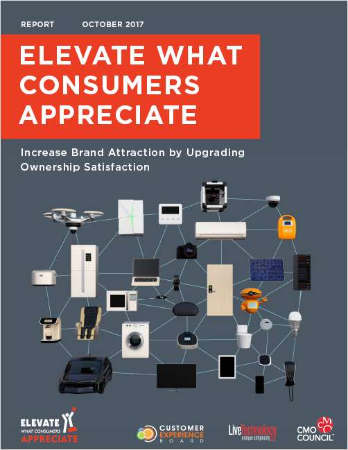 Elevate What Consumers Appreciate - Increase Brand Attraction by Upgrading Ownership Satisfaction
