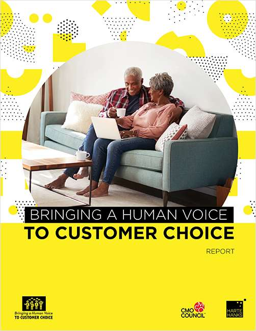 Bringing a Human Voice to Customer Choice - Rededicating Marketing to Serve the People in Front of the Data