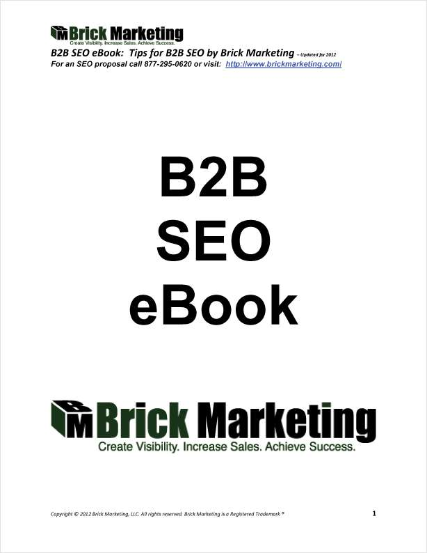 B2B SEO eBook: Tips for B2B SEO