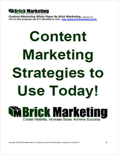 Content Marketing Strategies to Use Today!