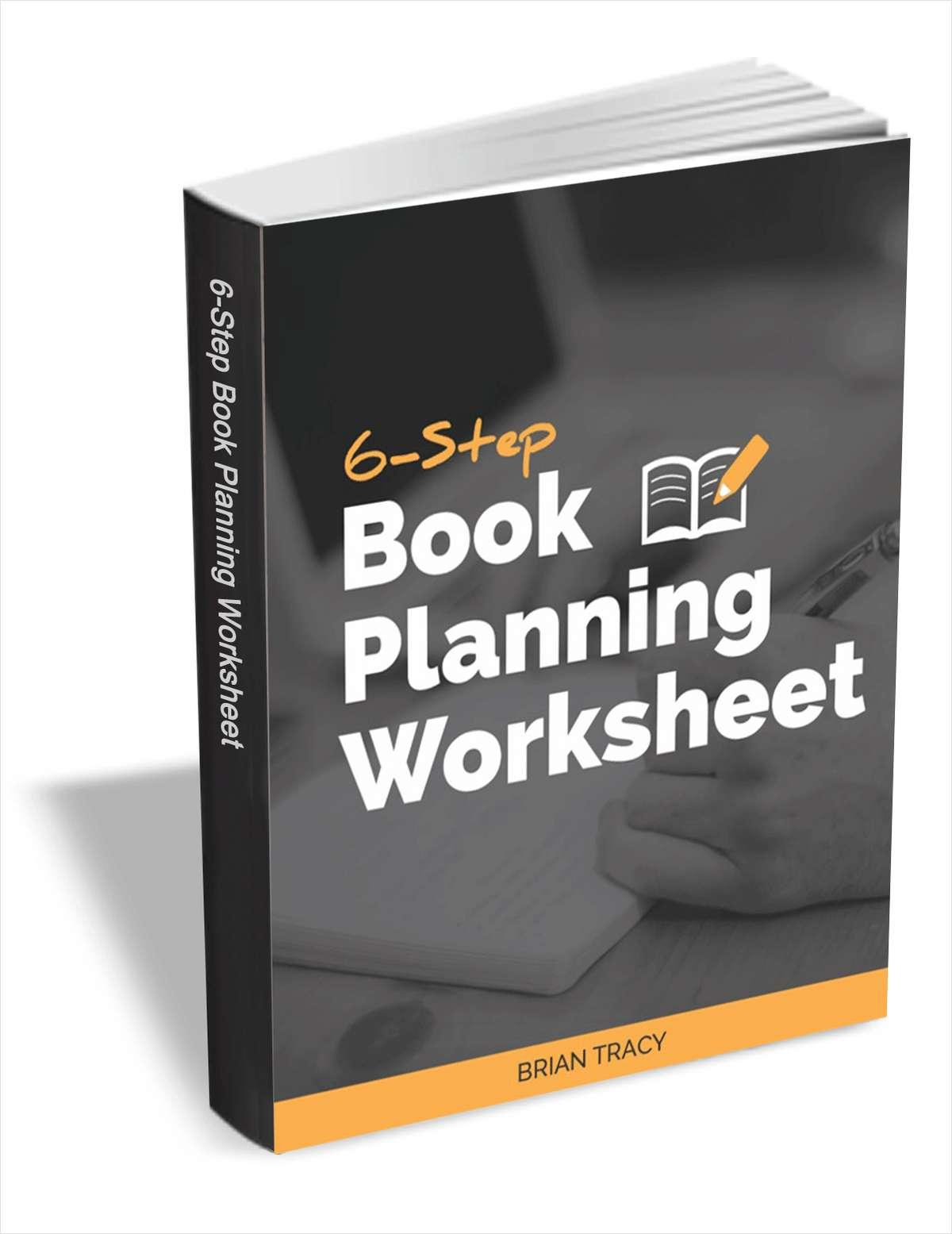 6-Step Book Planning Worksheet