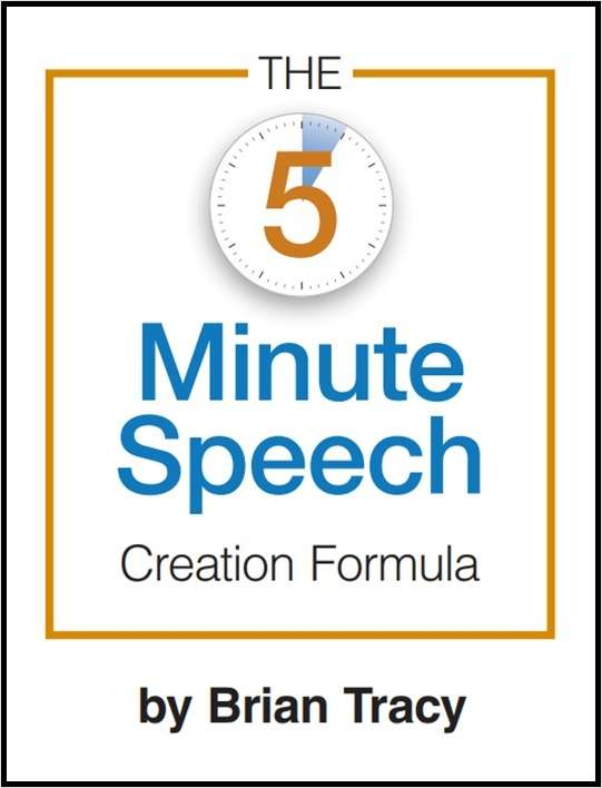 The 5 Minute Speech Creation Formula