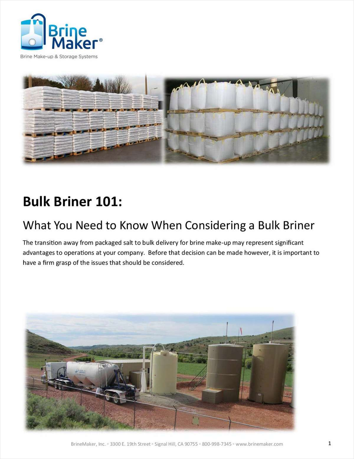 Bulk Briner 101: What You Need to Know When Considering a Bulk Briner