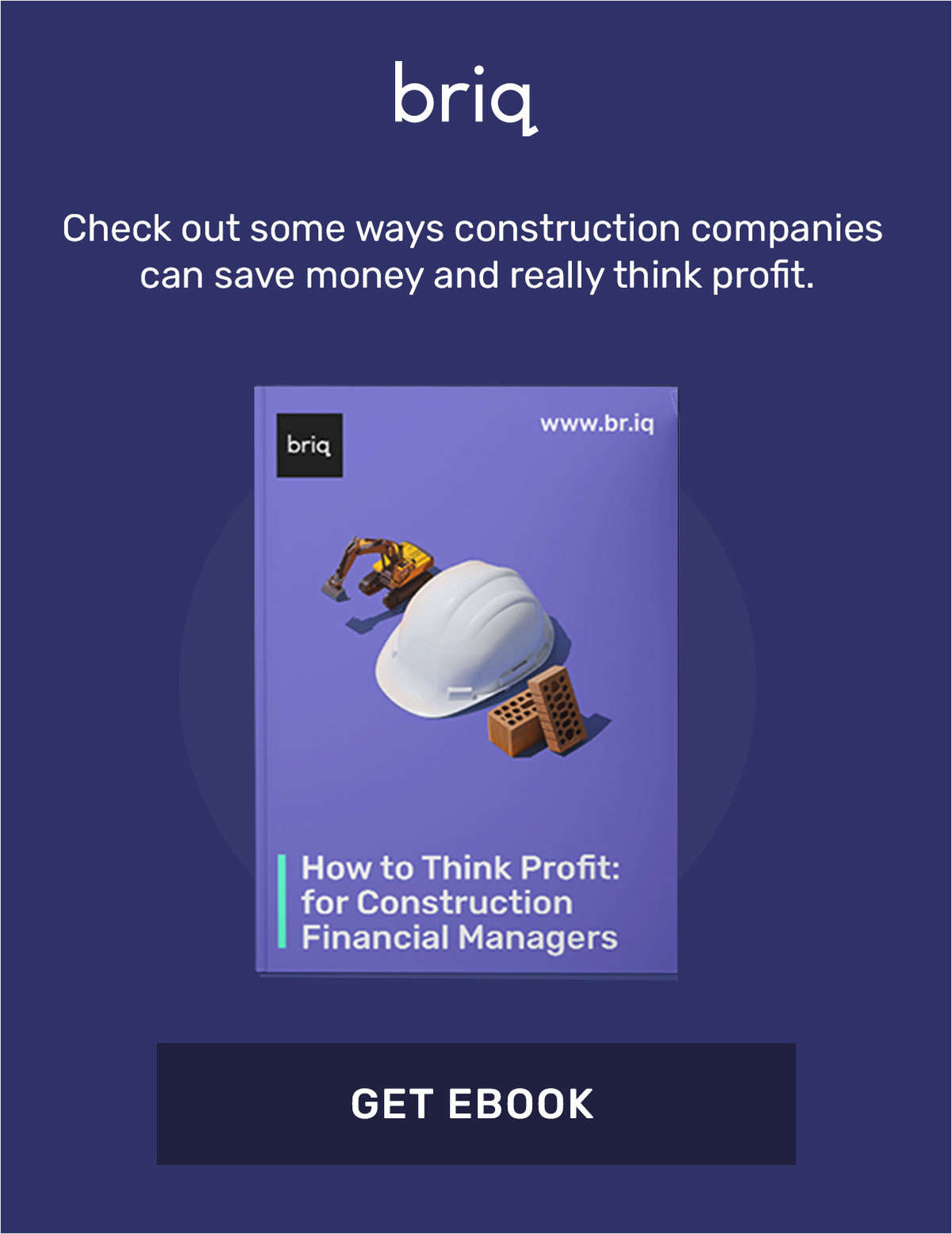 How to Think Profit: for Construction Financial Managers