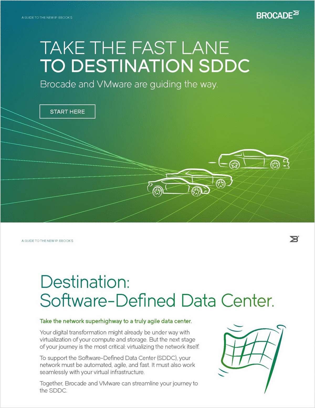 Take the Fast Lane to SDDC