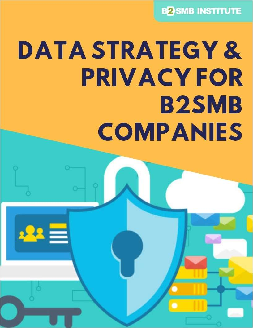 Data Strategy & Privacy for B2SMB Companies