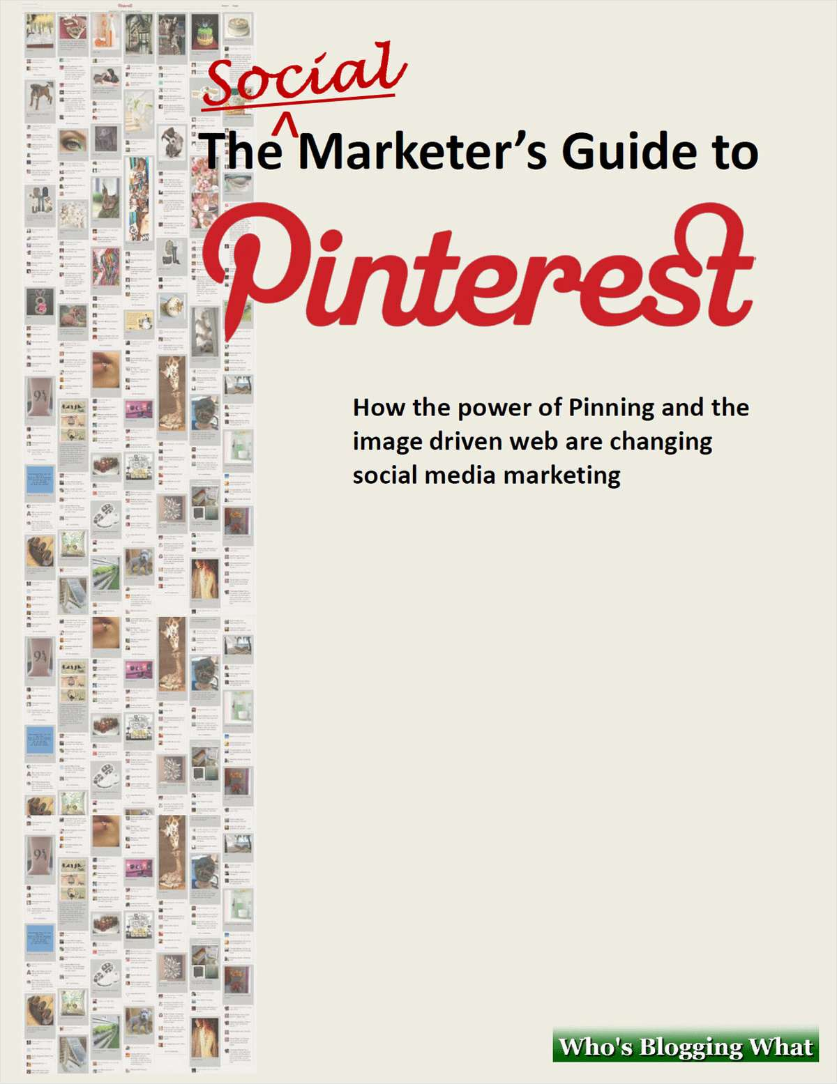 The Essentials of Marketing Kit - Includes the Free Social Marketer's Guide to Pinterest