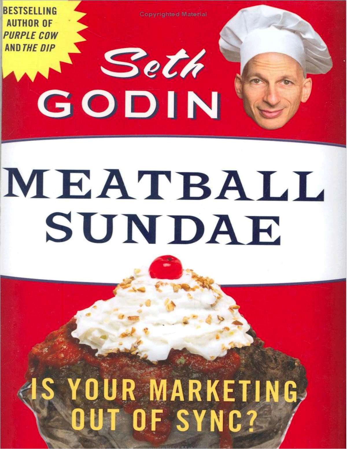 Meatball Sundae Marketing Research Kit - Includes a Free $8.50 Book Summary
