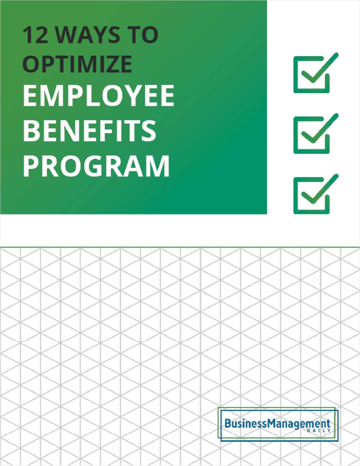 12 Ways to Optimize Your Employee Benefits Program: Low-Cost Employee Incentives, Recognition Programs and Rewards