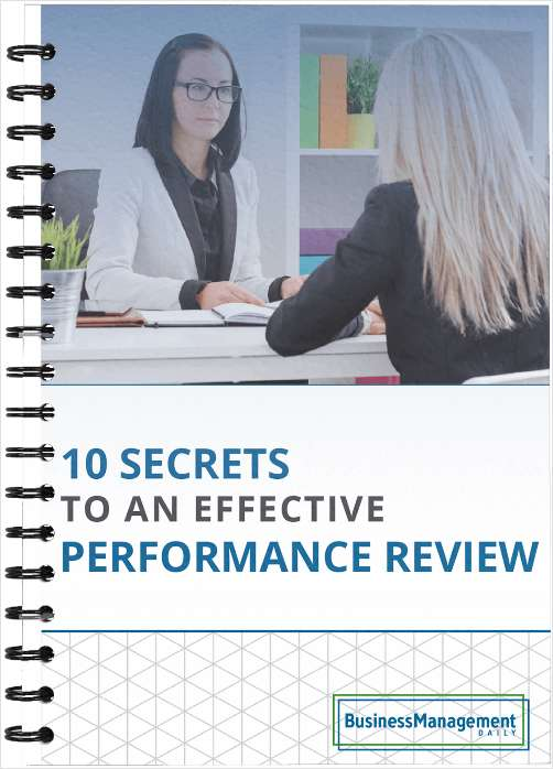 10 Secrets to an Effective Performance Review