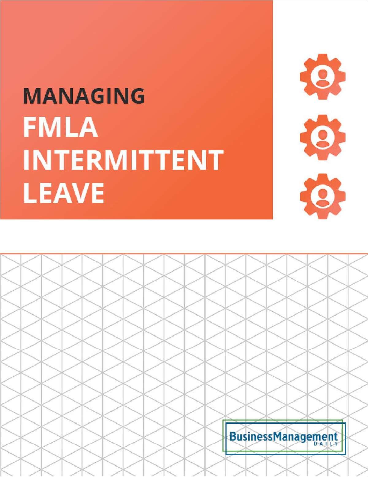 FMLA Intermittent Leave