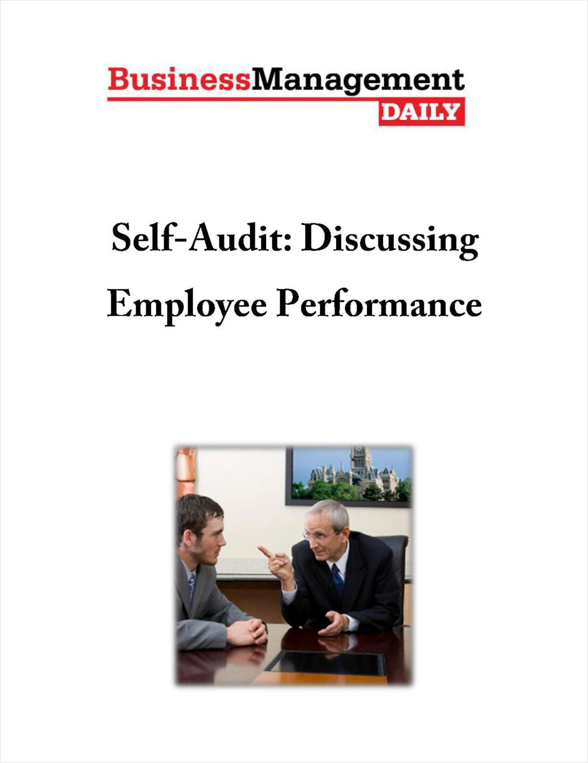 Self-Audit: Discussing Employee Performance
