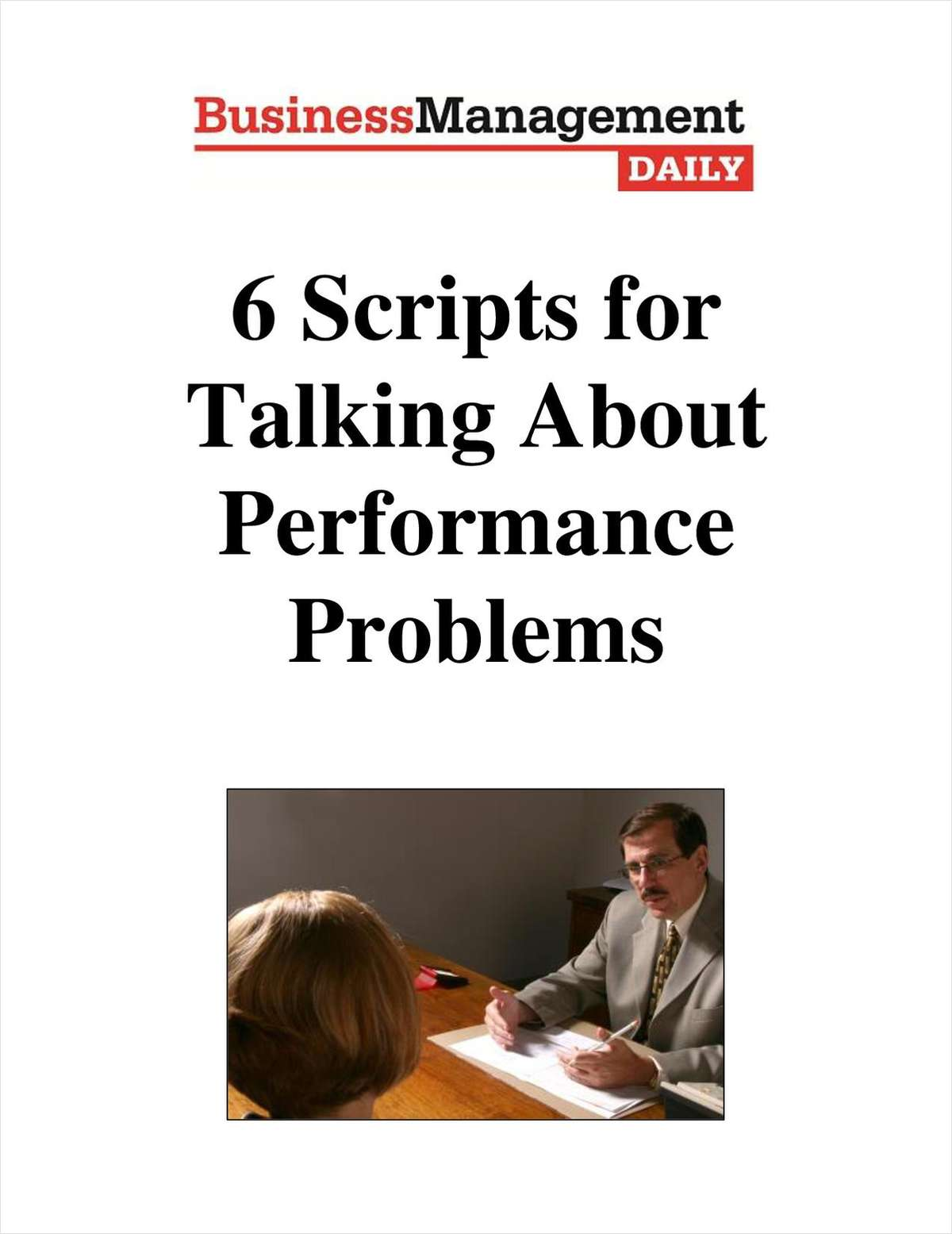 6 Scripts for Talking About Performance Problems