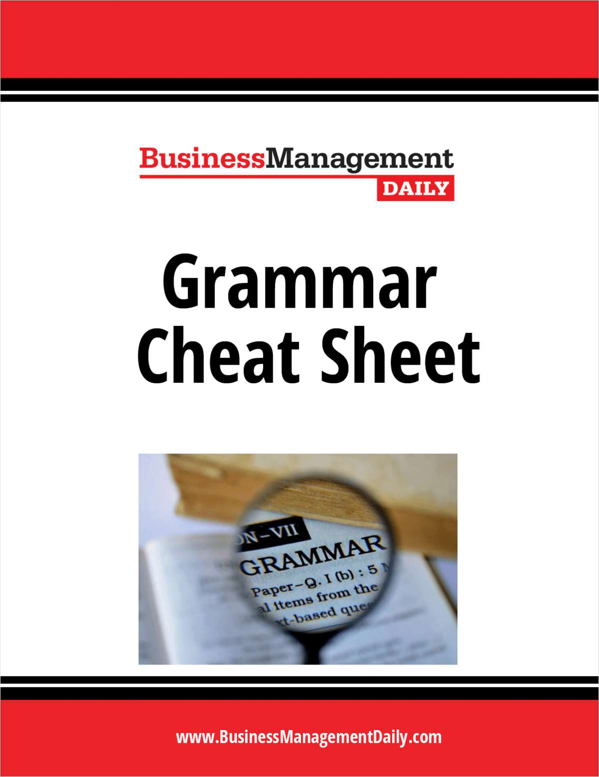 Grammar Cheat Sheet
