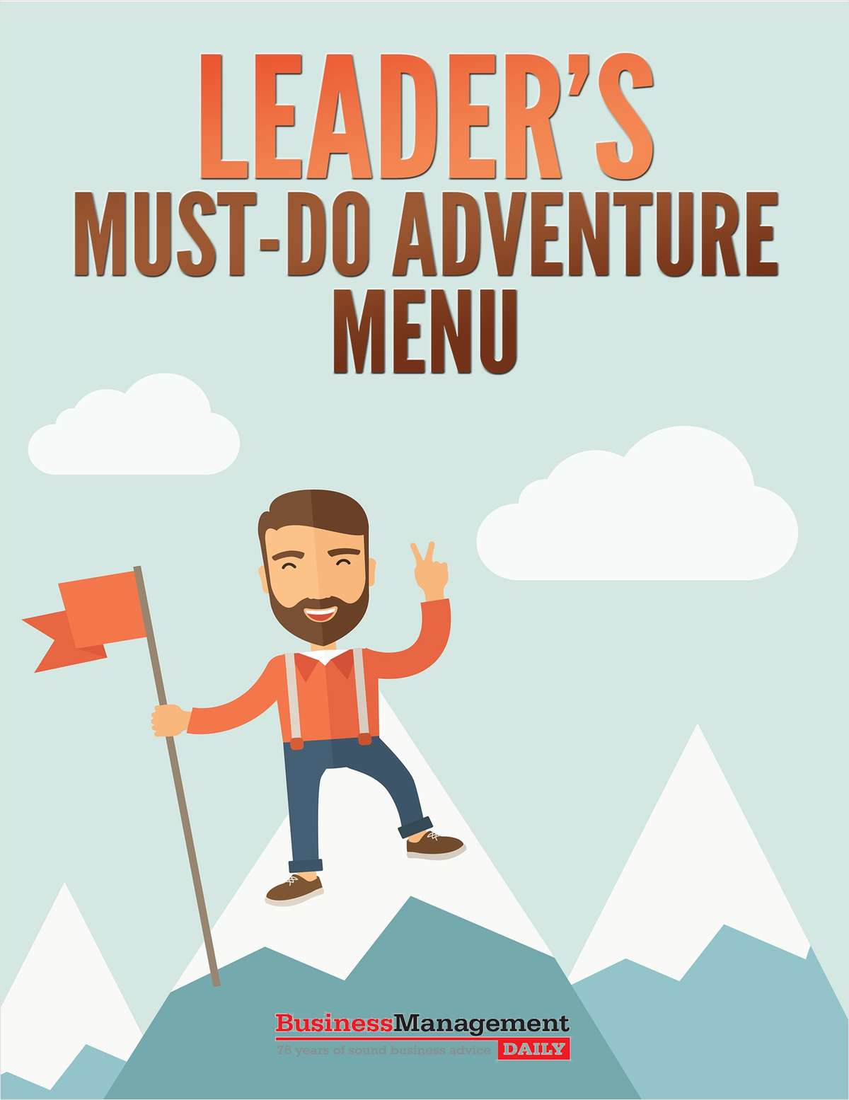 Leader's Must-Do Adventure Menu