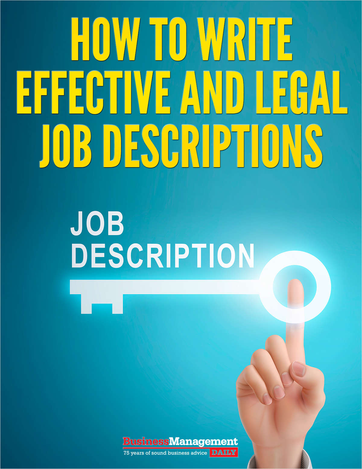 How to Write Effective and Legal Job Descriptions