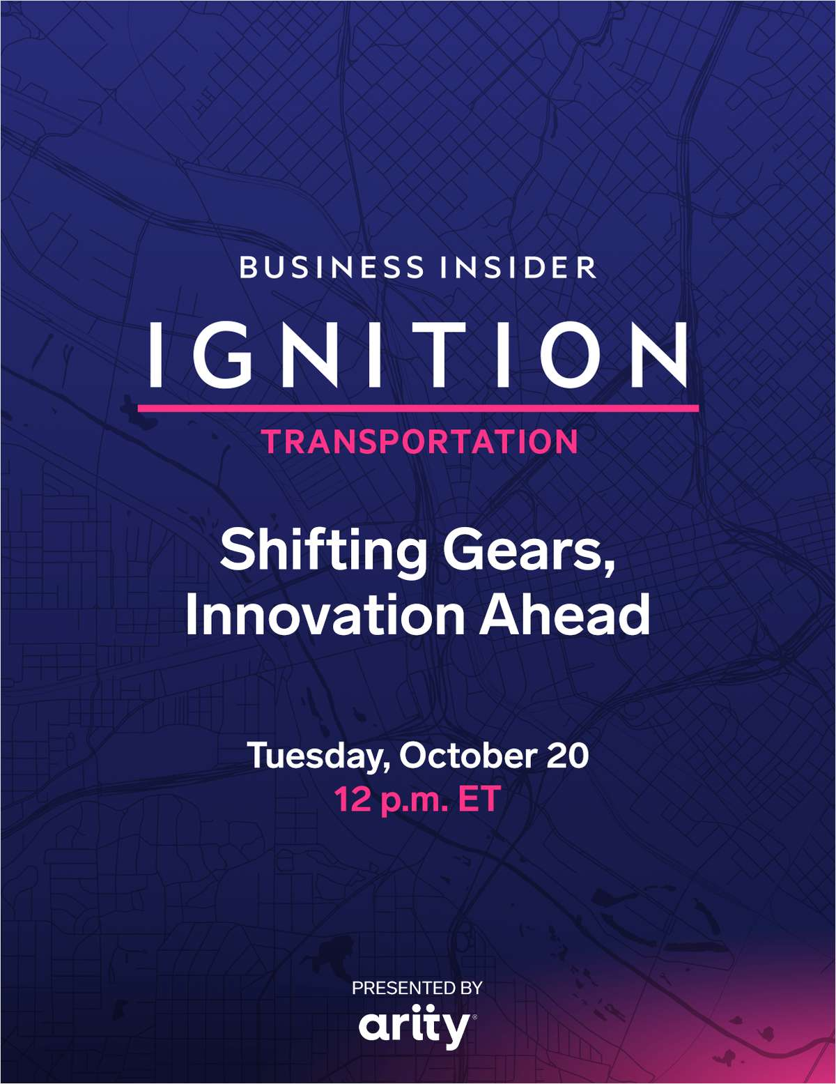 IGNITION: Transportation - Shifting Gears, Innovation Ahead