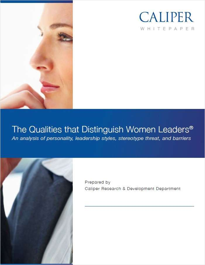 The Qualities that Distinguish Women Leaders®