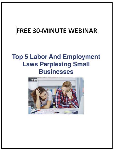 Top 5 Labor And Employment Laws Perplexing Small Businesses