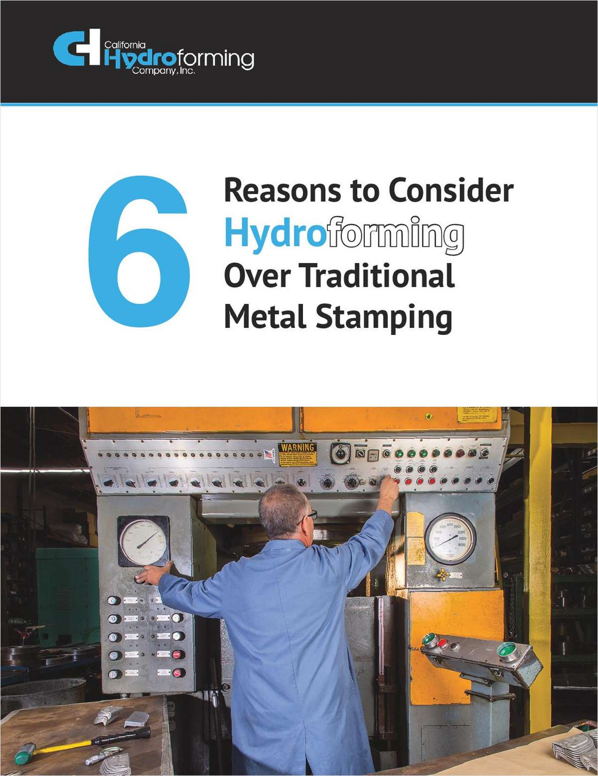 6 Reasons to Consider Hydroforming over Traditional Metal Stamping