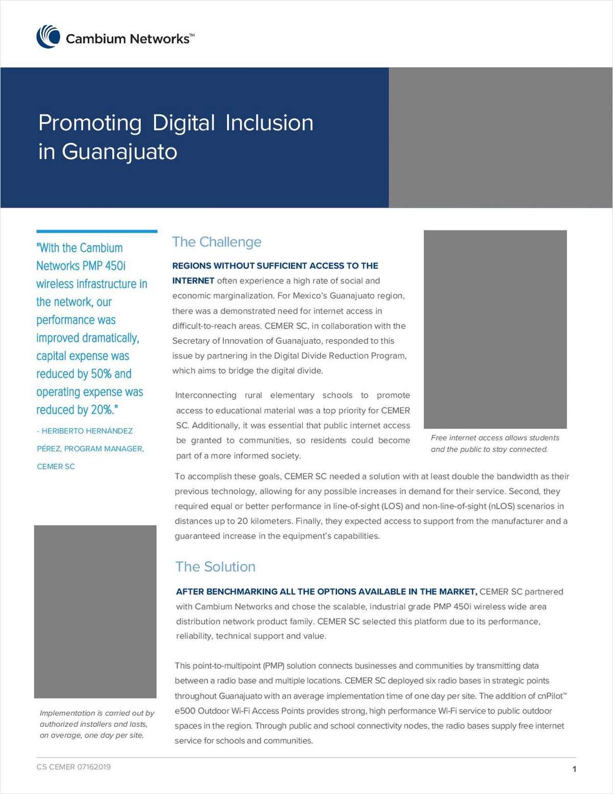 Promoting Digital Inclusion in Guanajuato