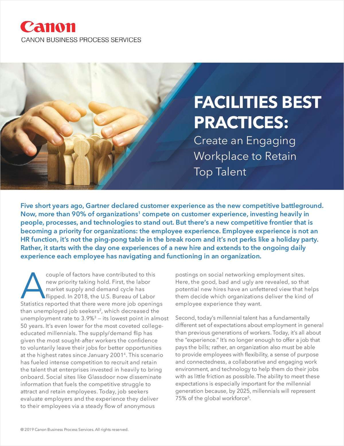 Facilities Best Practices: Create an Engaging Workplace to Retain Top Talent