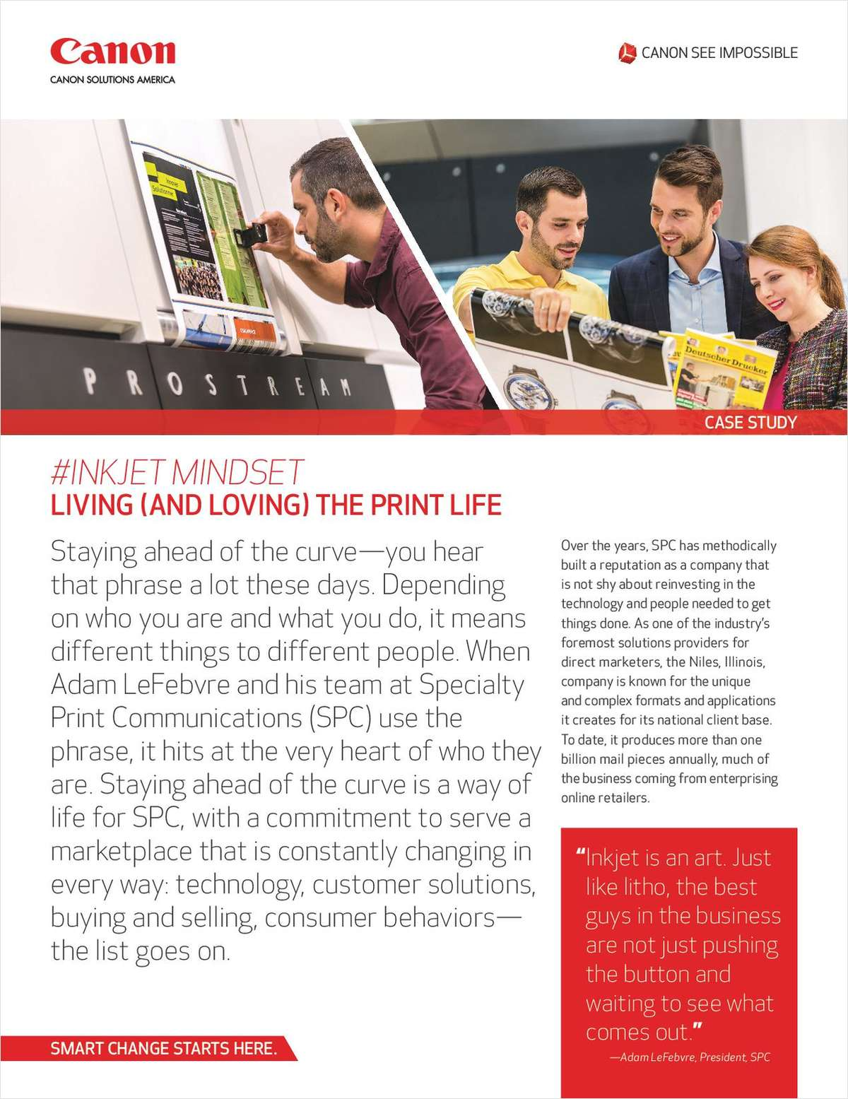 Living the Print Life with Production Inkjet