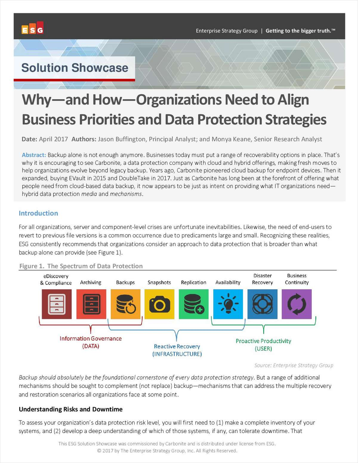 Why and How Organizations Need to Align Business Priorities and Data Protection Strategies