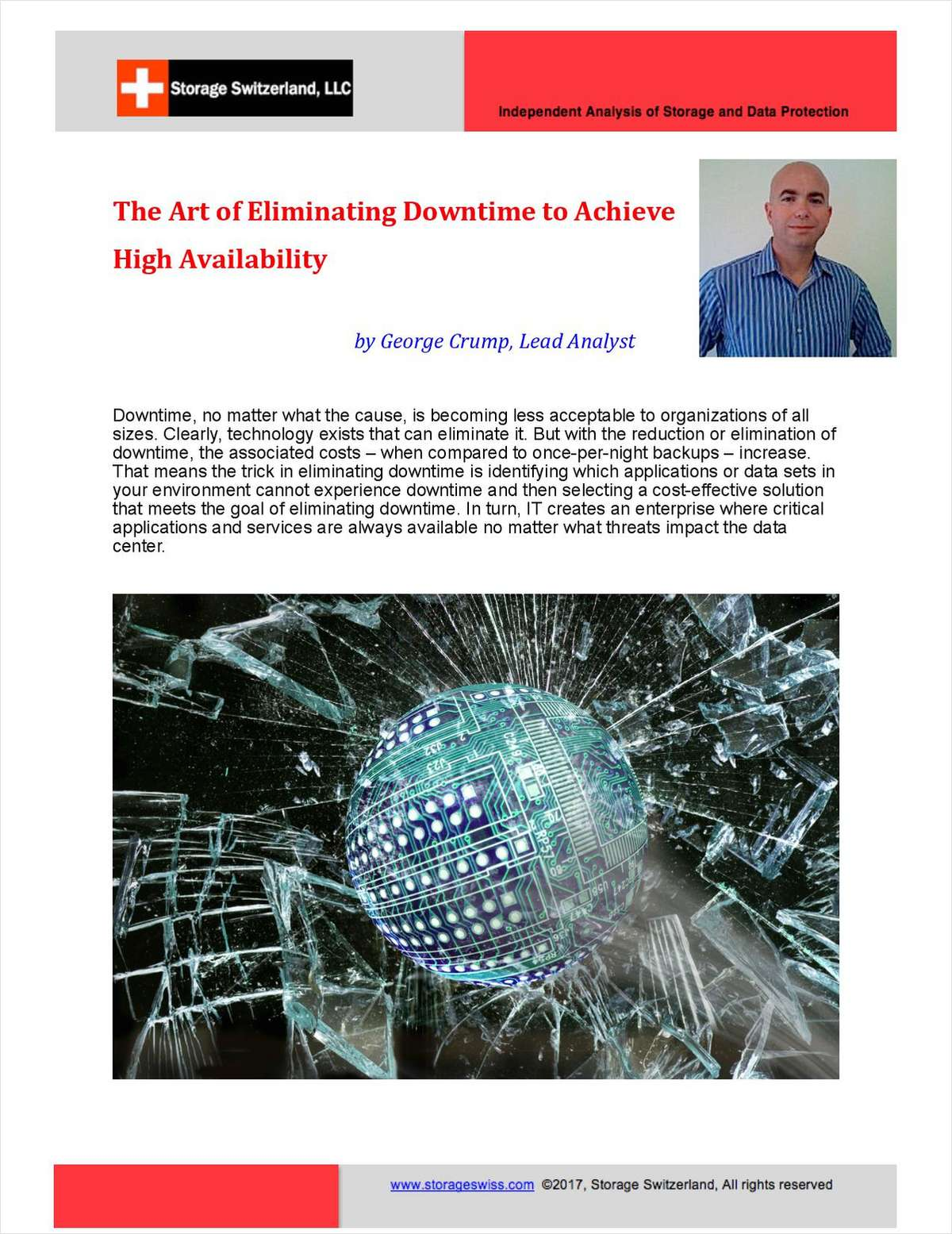 Art of Eliminating Downtime to Achieve High Availability