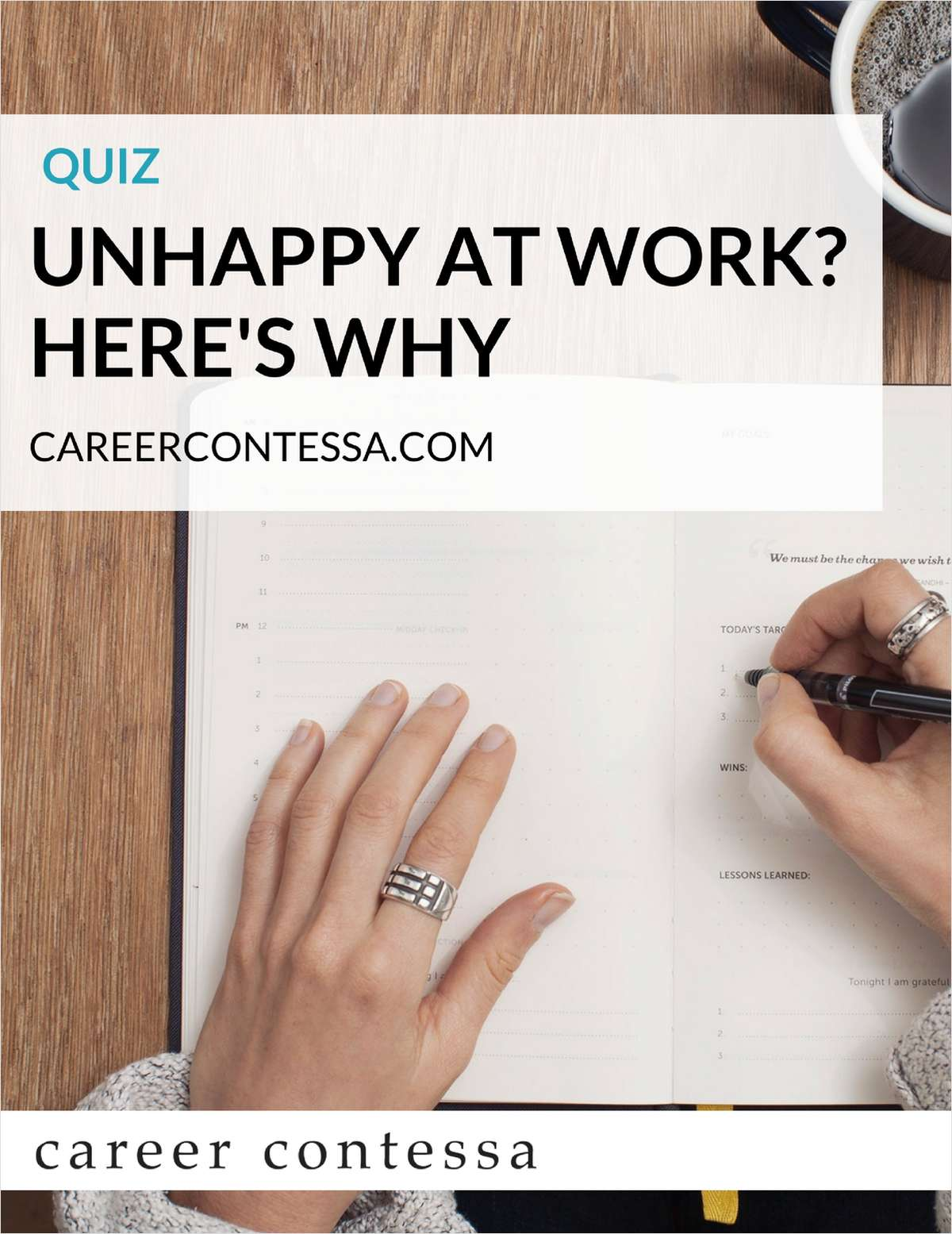 Quiz - Unhappy at Work? Here's Why