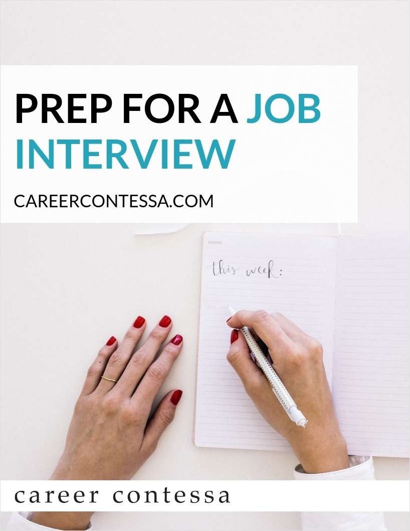 Prep For a Job Interview - Five Simple Steps to Seriously Dominate Your Next Job Interview